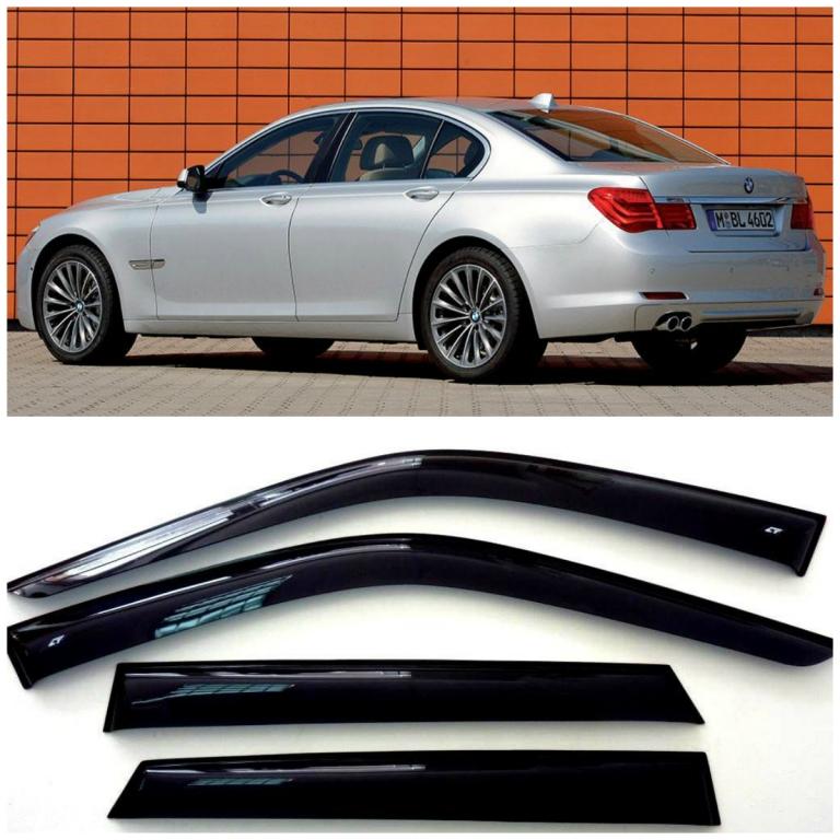 Дефлекторы боковых Стекол БМВ 7 Седан - BMW 7 Sd (F01/F03) 2008