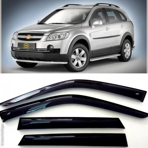 Дефлекторы боковых Окон на Шевроле Каптива - Chevrolet Captiva 2006-2011