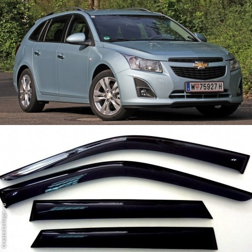 Дефлекторы боковых Окон на Шевроле Круз Универсал - Chevrolet Cruze Wagon 2012