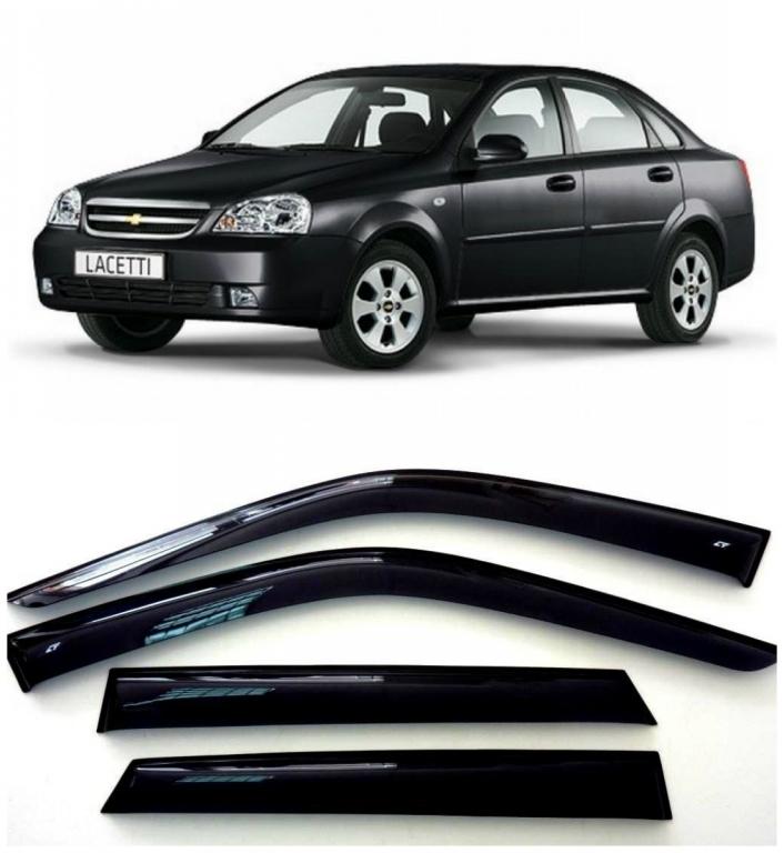 Дефлекторы боковых стекол на Шевроле Лачетти Седан - Chevrolet Lacetti Sedan 2003-2013